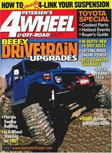 Four Wheel and Off Road Magazine Subscription